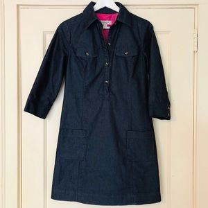 ISAAC MIZRAHI Denim Shirt Dress :